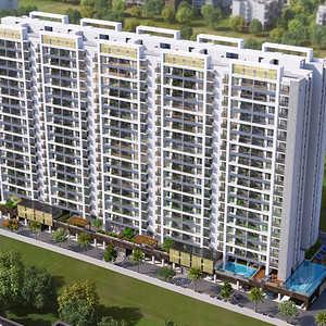 Buy 2 BHK 789 sqft Apartment / Flat in Mantra Monarch ...
